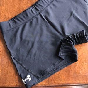 Under Armour Intimates & Sleepwear - Cheerleading-Style Spandex Shorts